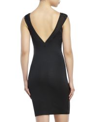 Wow Couture - Black Gold Label Corset Bandage Dress - Lyst