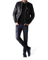 DIESEL | Black Generalloitnant for Men | Lyst