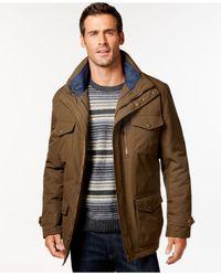 London Fog - Green 3-in-1 Field Coat for Men - Lyst