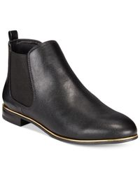 Circus by Sam Edelman | Black Abbie Chelsea Ankle Booties | Lyst