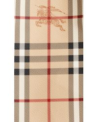Burberry - Brown The Small Canter In Haymarket Check - Lyst