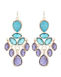 Kendra Scott | Multicolor Mona Chandelier Earrings | Lyst
