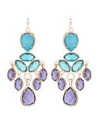Kendra Scott | Multicolor Mona Chandelier Earrings | Lyst