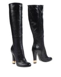 Casadei - Black Boots - Lyst