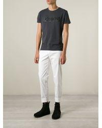 Iceberg - Gray Logo T-Shirt for Men - Lyst