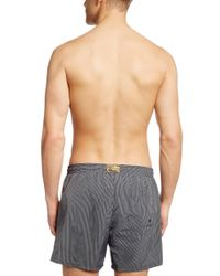 BOSS - Gray Swim Shorts 'batfish' In A Quick-drying Material for Men - Lyst