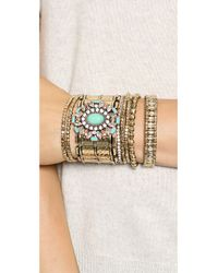 Samantha Wills | Blue Rumours Unknown Bracelet Set Turquoise | Lyst