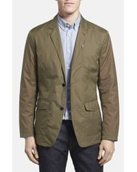 Victorinox | Green 'paper Touch' Tailored Fit Water Repellent Blazer for Men | Lyst