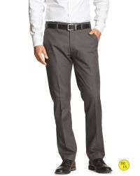 Banana Republic | Gray Factory Non-iron Tailored Slim-fit Chino for Men | Lyst