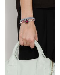 Carolina Bucci | Blue Rose Gold Twister Bracelet | Lyst