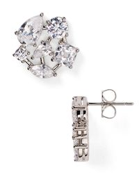Nadri - Metallic Constellation Button Stud Earrings - Lyst