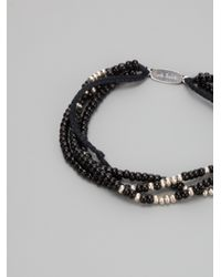 Paul Smith | Black Multi Beaded Bracelet for Men | Lyst
