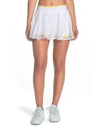 Adidas By Stella McCartney | White Climalite Mesh Skort | Lyst