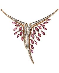 Shaun Leane | Aerial 18ct Rose-gold, Pink Tourmaline And White Diamond Necklace | Lyst