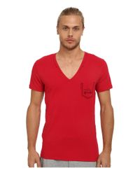 DIESEL | Red Umtee-jesse T-shirt Jahh for Men | Lyst