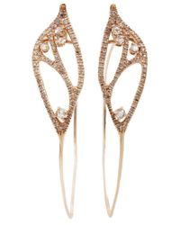 Federica Rettore | Metallic Hoop Earrings | Lyst