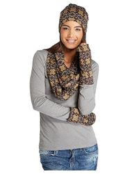 Threads For Thought - Brown Snowflake Fingerless Gloves - Lyst