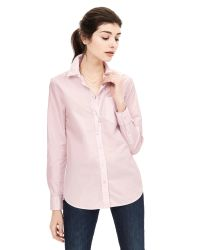 Banana Republic | Pink Dillon-fit One-pocket Shirt | Lyst