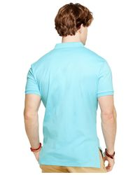 Polo Ralph Lauren | Blue Pima Polo for Men | Lyst