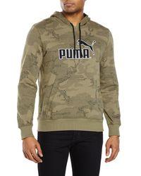 PUMA | Green No. 1 Logo Hoodie for Men | Lyst