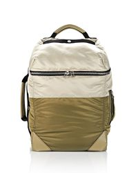 Alexander Wang - Gray Wallie Backpack Bomber In Grey Nylon Leather With Silver for Men - Lyst