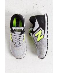New Balance - Gray 574 Sweatshirt Running Sneaker - Lyst