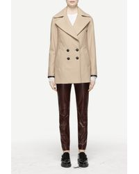 Rag & Bone | Brown Token Peacoat | Lyst
