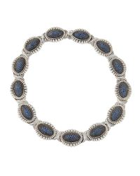 Lagos | Muse Blue Sapphire Collar Necklace | Lyst