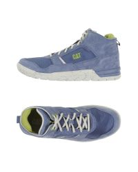 Caterpillar - Gray High-tops & Trainers for Men - Lyst