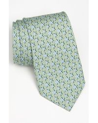 Vineyard Vines | Green 'starfish' Silk Tie for Men | Lyst