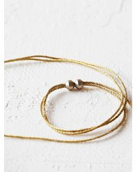 Free People | Metallic Nahua For Womens Moza Choker | Lyst