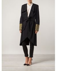 Sass & Bide - Blue 'The Miraculous' Trench Coat - Lyst