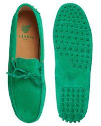 Bobbies - Green Le Magnifique Driving Shoes for Men - Lyst