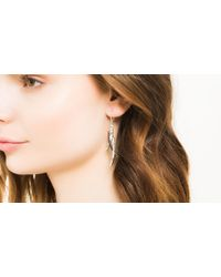 John Hardy | Black Bamboo Earrings | Lyst