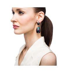 Lulu Frost - Metallic Scarab Pair Earring - Lyst