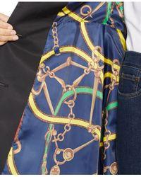 Lauren by Ralph Lauren - Black Belted Trench Coat - Lyst