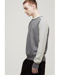 Rag & Bone - Gray Loopback Sweatshirt for Men - Lyst