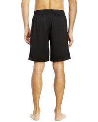 PUMA - Black Mesh Shorts for Men - Lyst