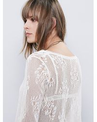 Free People | White Womens Sunday Maxi Top | Lyst