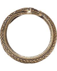 Isabel Marant - Metallic Brass Snake Ring - Lyst