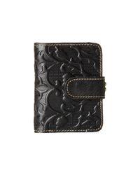 Patricia Nash | Black Iberia Wallet | Lyst