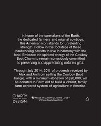 ALEX AND ANI - Metallic Cowboy Boot Expandable Wire Bangle, Charity By Design Collection - Lyst