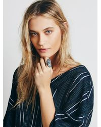 Free People | Metallic Rejoice The Hands Womens Desert Dreamer Ring | Lyst