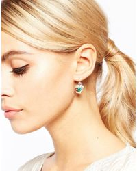 Les Nereides - Multicolor Floral Drop Earrings - Lyst