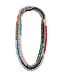 Lucy Folk | Multicolor All Spice Pepper Chain Necklace | Lyst