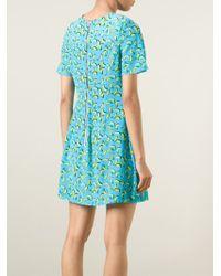 Markus Lupfer | Blue 'Bananas Billie' T-Shirt Dress | Lyst