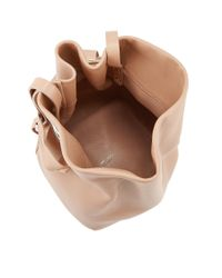 Jimmy Choo - Eve Ballet Pink Nappa Leather Bucket Bag - Lyst