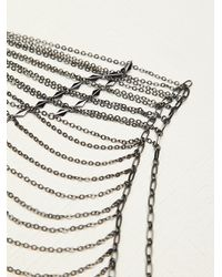 Free People | Metallic Shae Upper Body Chain | Lyst