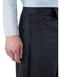 Yang Li - Blue Men's Long Loose Shorts In Black for Men - Lyst