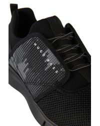 BOSS Green - Black 'gym Soft' | Mesh Sport Sneaker for Men - Lyst
